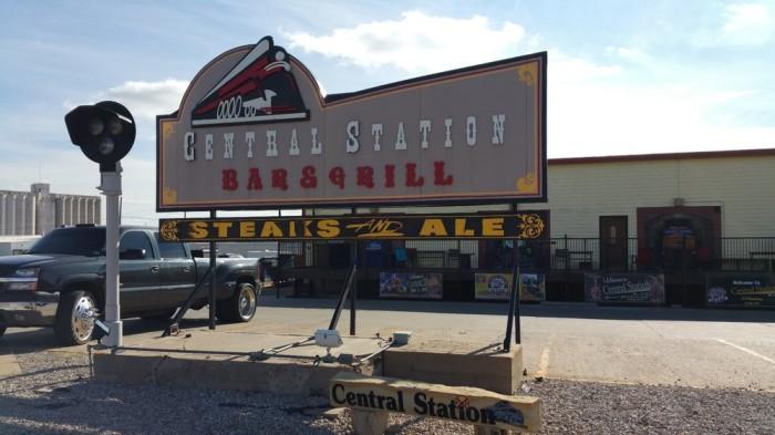 10. Central Station Bar & Grill (Dodge City)