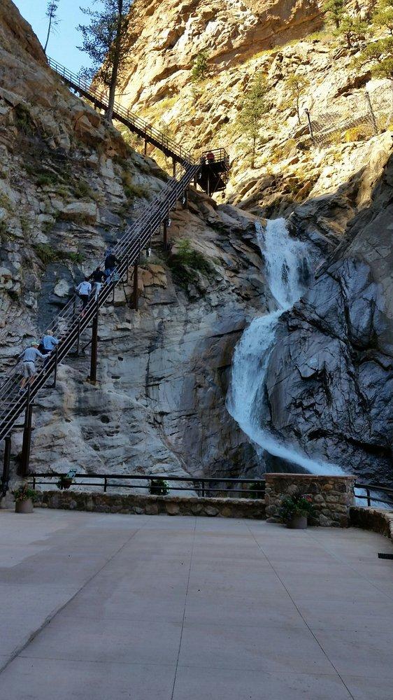 1. Seven Falls (Colorado Springs)