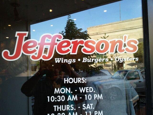 11. Jefferson's Restaurant (Lawrence)
