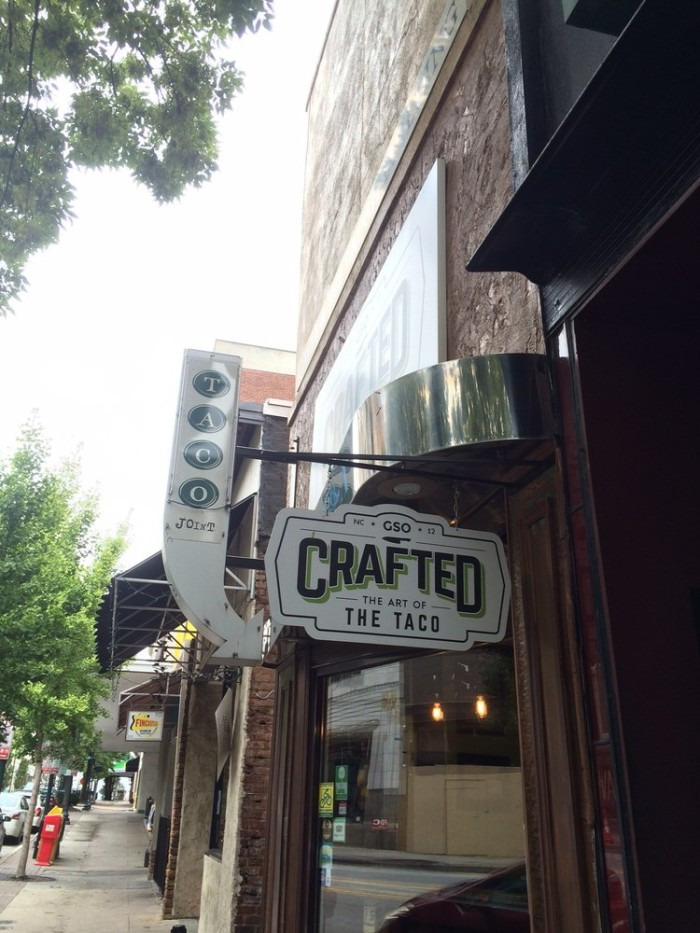 8. Crafted, Greensboro
