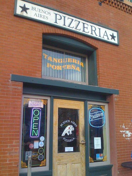8.) Buenos Aires Pizzeria (LoDo)