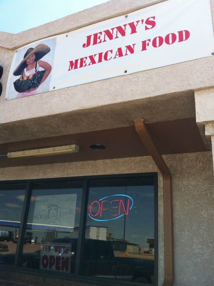 5. Jenny's Mexican Food (Limon)