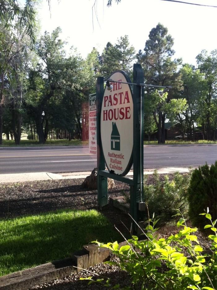 10. Pasta House, Pinetop