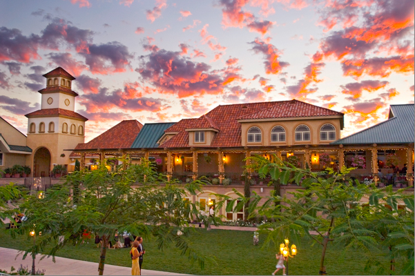 5. South Coast Winery Resort and Spa in Temecula is a luxury destination for an entire weekend of wine tasting. The setting is unbelievably romantic with lush vines and rolling hills decorating the background.