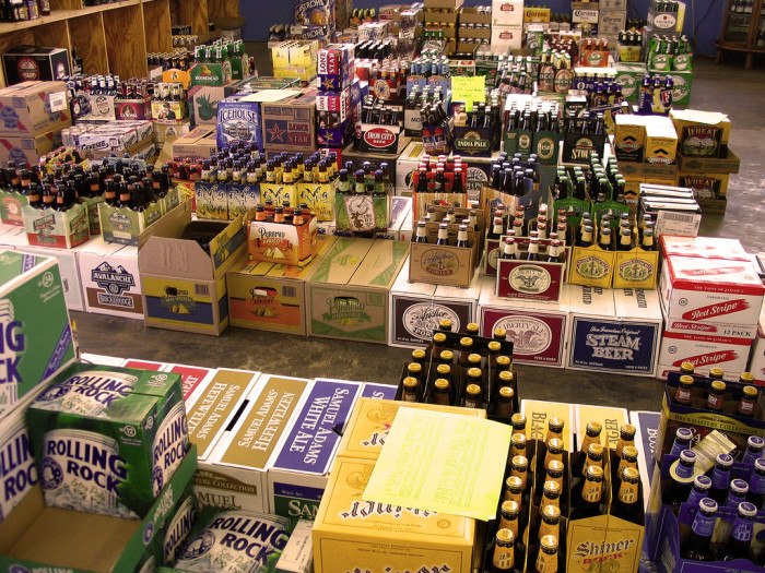 14. Having to buy your alcohol before Sunday game days.
