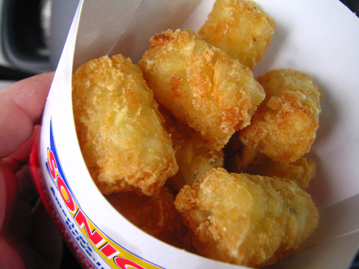 7. Sonic Tater Tots