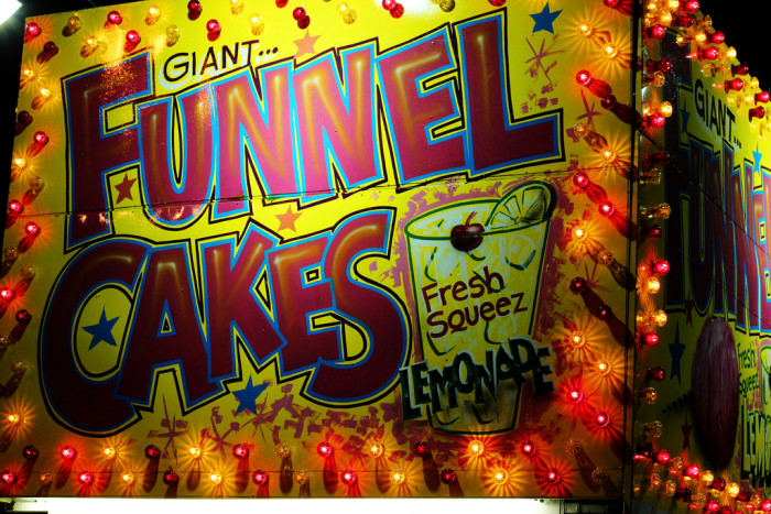 7. You've made a trip to the State Fair to eat funnel cakes.