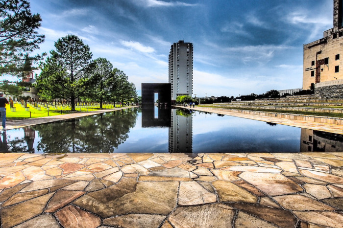 6. You've honored the victims at the Oklahoma City National Memorial.