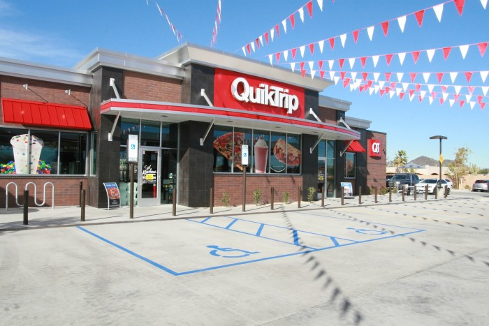 9. You've jumped for joy when your local QT converted to a QT Kitchen.