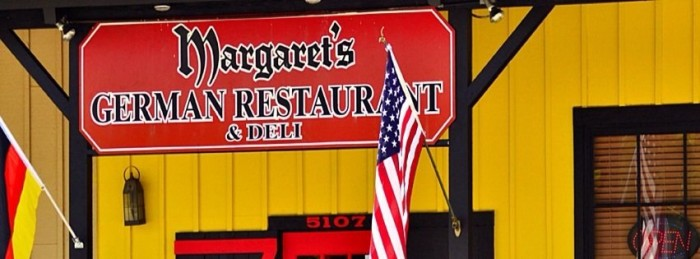 11. Margaret's German Restaurant & Deli, Tulsa