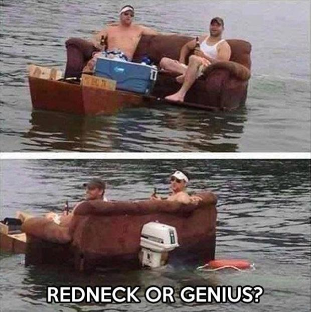4. Dealing with redneck jokes.