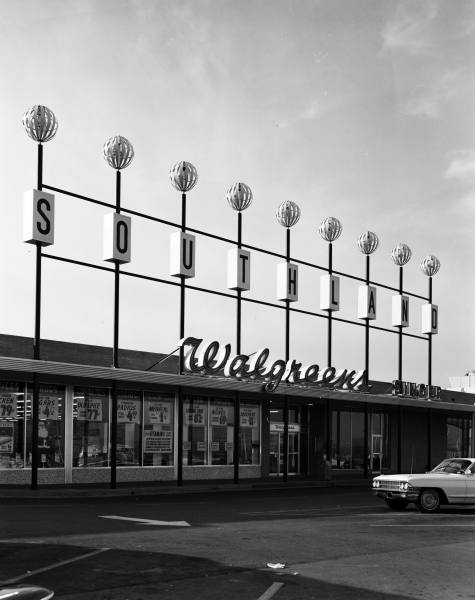 4. The Southland shopping center at 41st and Yale in Tulsa. It opened in 1965 as Southland Center. It was converted in the early 1980s to an indoor mall, dubbed Promenade, which still exists today.
