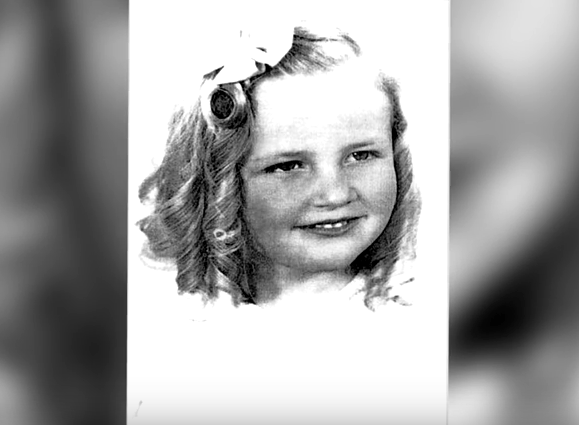 Joan Gay Croft was four-years-old with golden blonde hair and blue eyes.