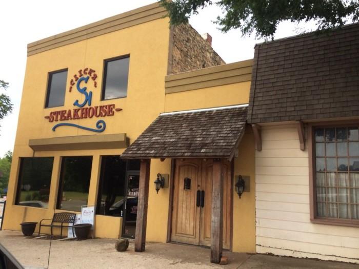 6. Clicks Steakhouse, Pawnee
