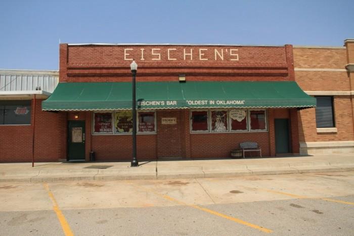 3. Eischen's Bar, Okarche