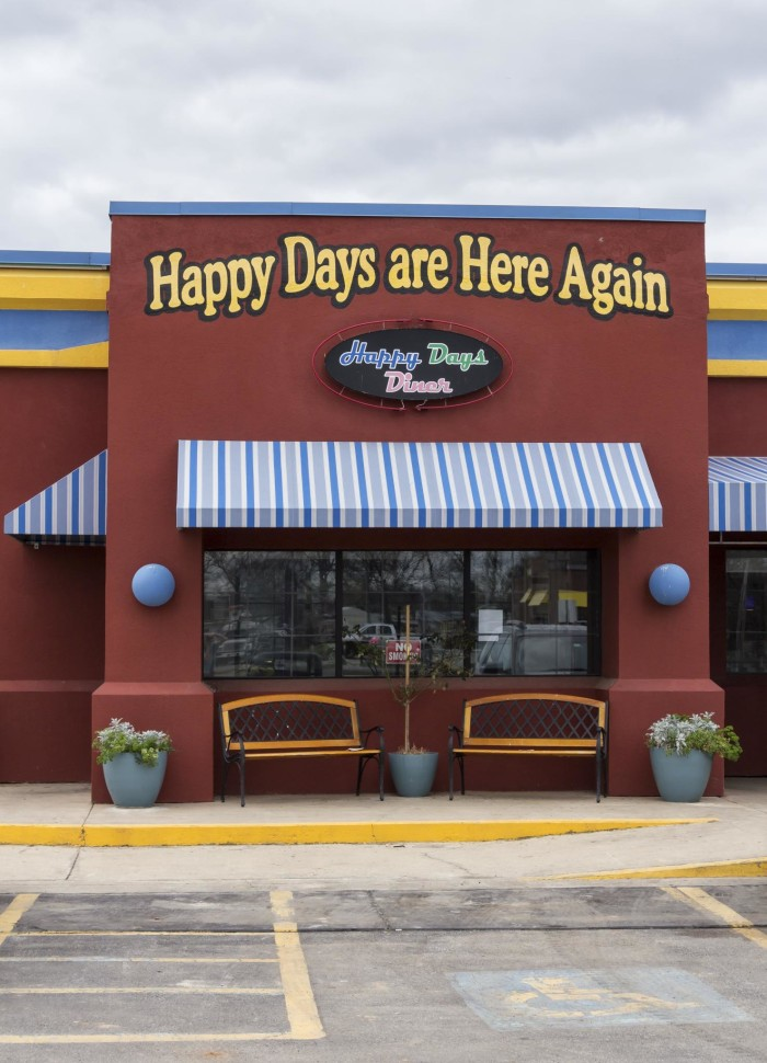 2. The first stop after OKC is Pauls Valley for a hearty breakfast at Happy Days Diner. Fill up the belly and get ready for an adventurous day.