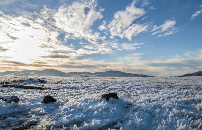 13. Wichita Mountains winter wonderland.