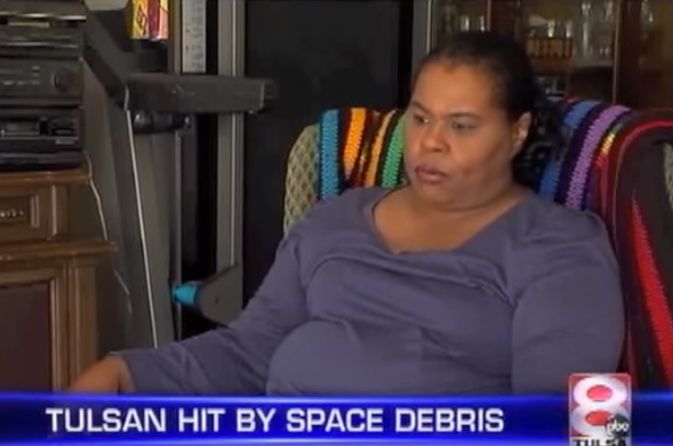 3. Lottie Williams, a resident from Tulsa, is the only known person to get hit by space debris falling from the sky.