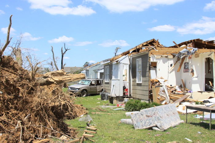 1. In Ponca City, a tornado once picked up a house with a man and his wife still in it and set it back down in one piece.