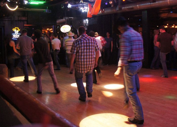 6. You know how to line dance.