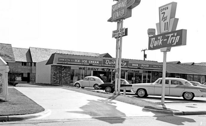 1. Quiktrip at 56th and Lewis in Tulsa, taken in 1965.