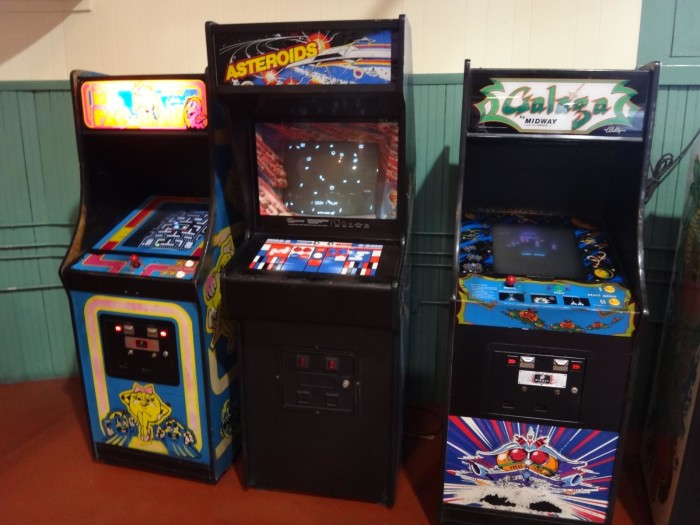 10. Getting to go to the arcade to play these games.