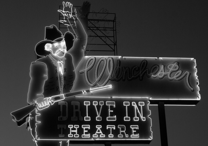 8. Going to one of Oklahoma's drive-in theaters and watching RAD flicks.