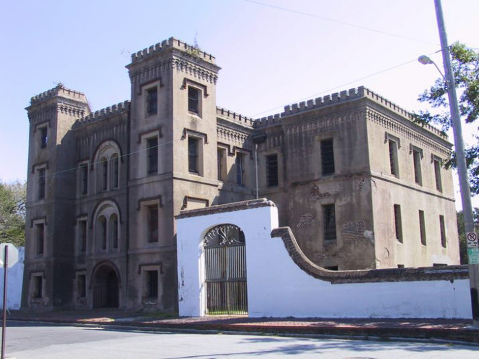10. Tour one of South Carolina's most haunted buildings: The Old City Jail in Charleston.