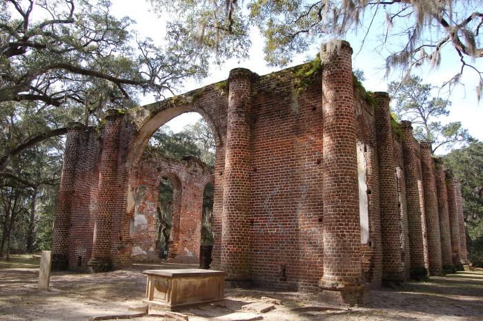 4. Old Sheldon Church - Yemessee, South Carolina