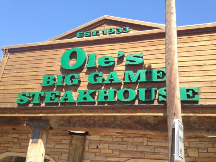 Ole's Big Game Steakhouse, Paxton
