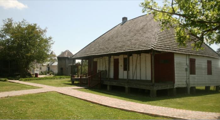 4. Le Vieux Village, Opelousas