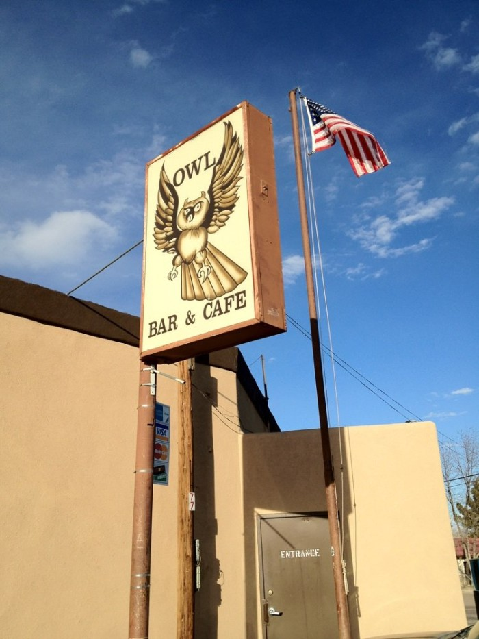 5. Owl Bar and Cafe, 77 US-380, San Antonio, NM 87832