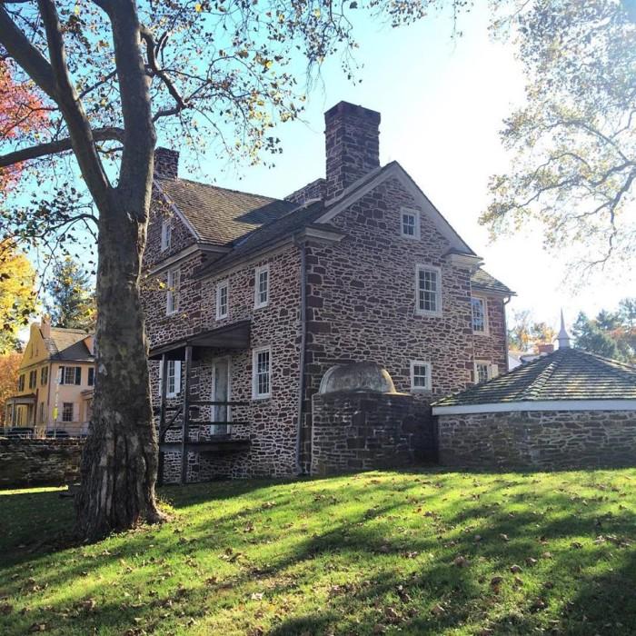 8. The Village at Washington Crossing Historic Park, Washington Crossing