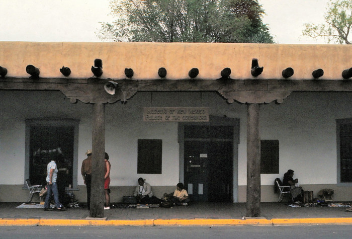 11. Santa Fe's Palace of the Governors in 1972.