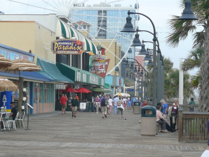 "8. Where you spend your time can get you labeled a ""tourist."" In some parts of Myrtle Beach its harder to find a local than it is to spot a tourist."