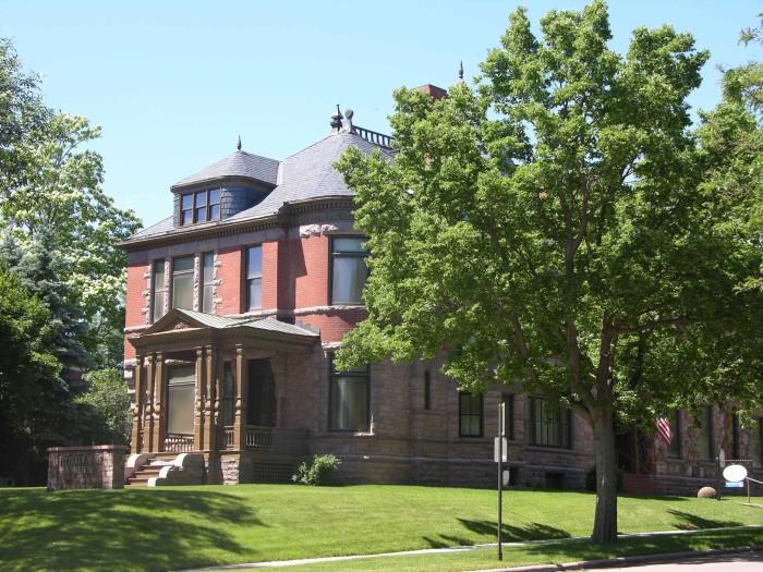 Pettigrew Home and Museum - creepy houses in south dakota