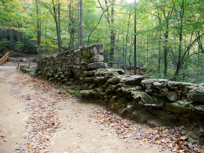 2. Poinsett Bridge is the oldest bridge in South Carolina. It stretches 130 feet over Little Gap Creek in Greenville County.