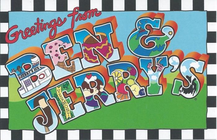 5.  Ben & Jerry's
