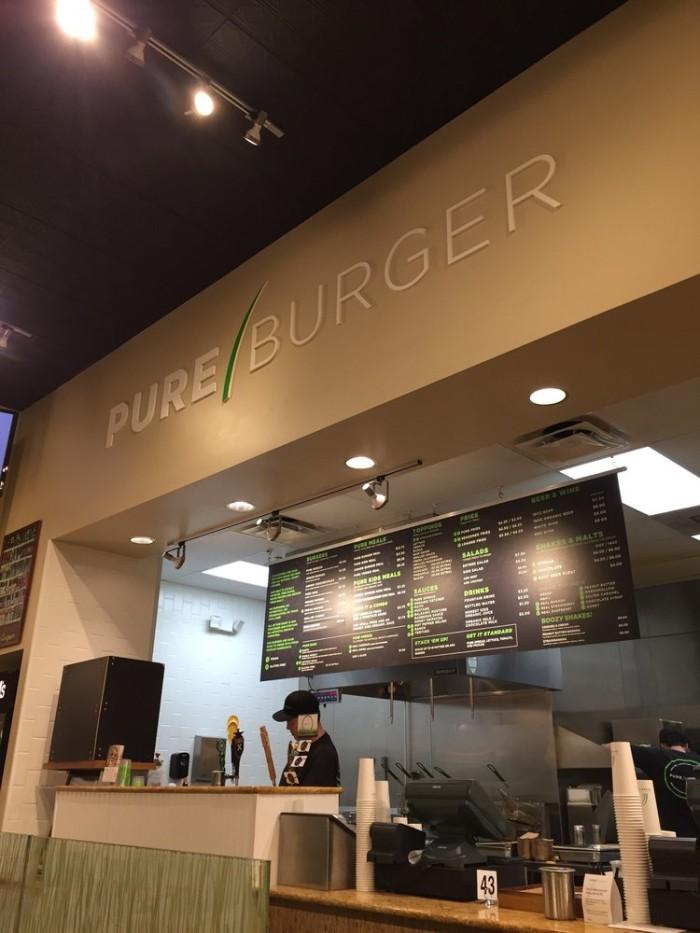 6.  Pure Burger, Carlsbad