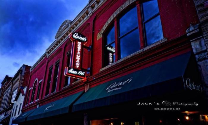 5. Quinet's Court Restaurant in New Martinsville
