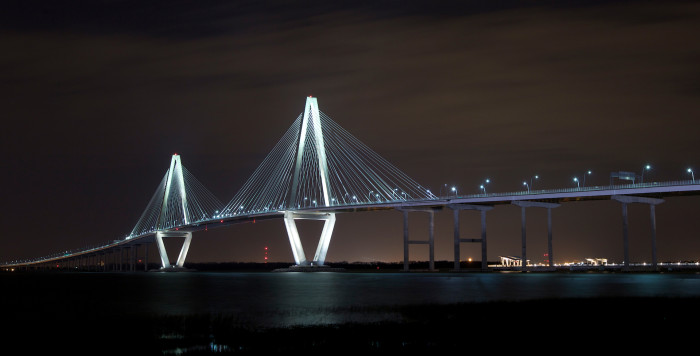 6. Ravenel Bridge - Charleston and Mount Pleasant, SC.