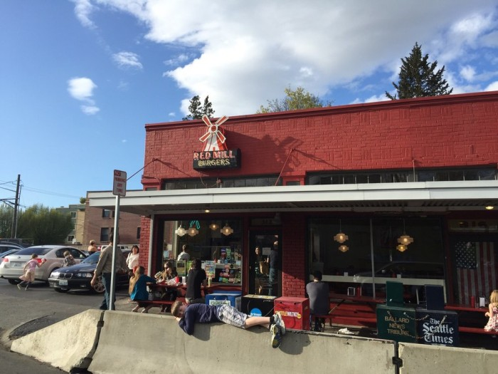 10. Red Mill Burgers, Seattle