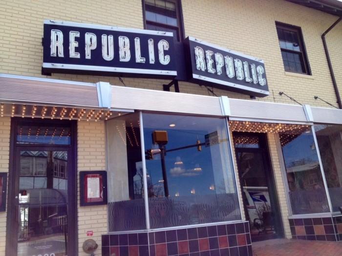 9) Republic, Takoma Park
