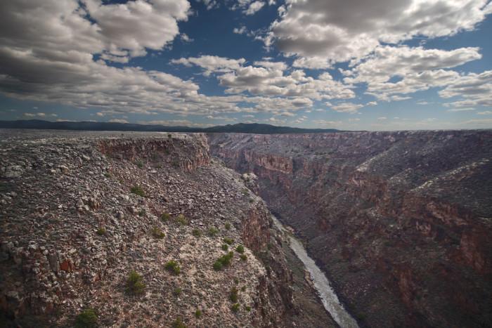 1. The Rio Grande Gorge never fails to evoke feelings of wonder.