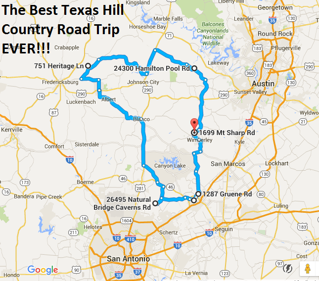 The Ultimate Texas Hill Country Road Trip