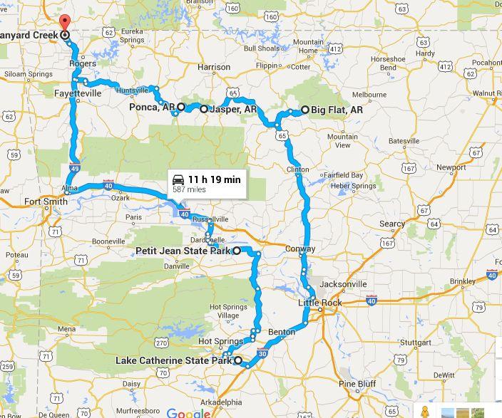 Virginia To Grand Island Nebraska Drive