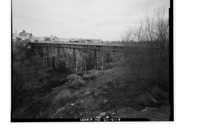1. Rock Creek/The Singing Bridge, Twin Falls