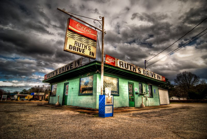 12. Go for breakfast or lunch at the legendary Ruth's Drive-In - Hartsville, SC