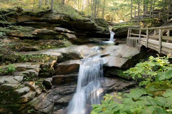 9. Sabbaday Falls