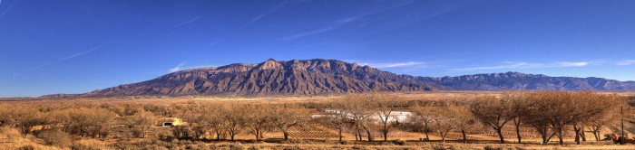4. The Sandias are just one example of New Mexico's plentiful mountain ranges.